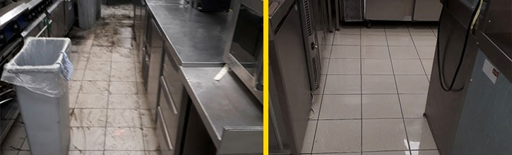 After flood cleaning services, cleaning up after a flood, business flood cleaning, water damage clean up
