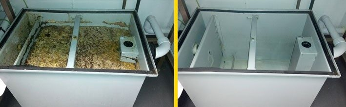 Grease trap cleaning service, kitchen grease trap cleaning, kitchen deep cleaning grease trap