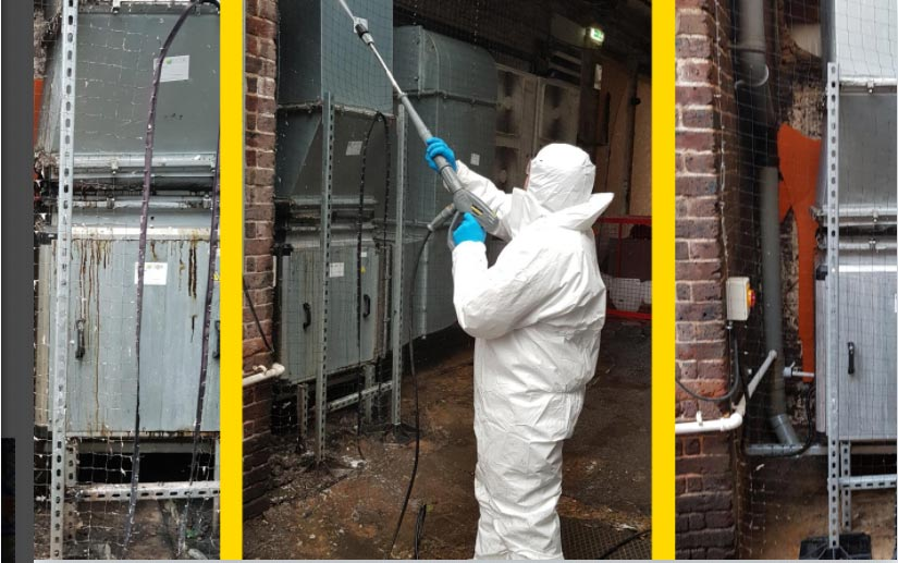 Industrial cleaning, plant room cleaning, engine room cleaning, warehouse and factory cleaning