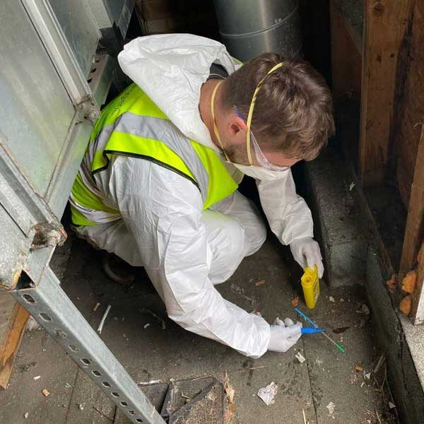 sharps cleaning, needle clean up, sharps removal and clean up